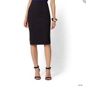 Gianfranco Ferre Black Pencil Skirt size 42